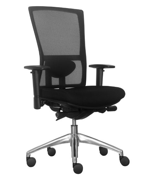 The Koda chair is a supremely comfortable executive or boardroom chair with dual density seat foam, slim clean lines and all the adjustments you need. • Black mesh back. • Seat slider for depth adjustment. • Height and depth adjustable lumbar support. • Dual density seat foam. • Easy to use tension control on the … Continue reading Koda →