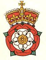 Tudor Rose Crest...I am obsessed.