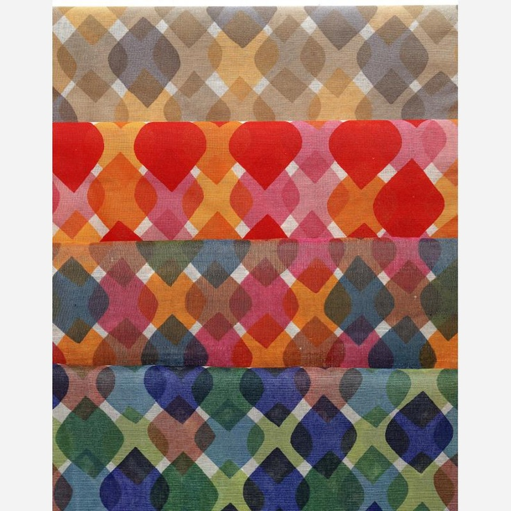 Alexander Girard - Feathers, 1957. Alexander Girard affectionately known as Sandro, was an architect and a textile designer.