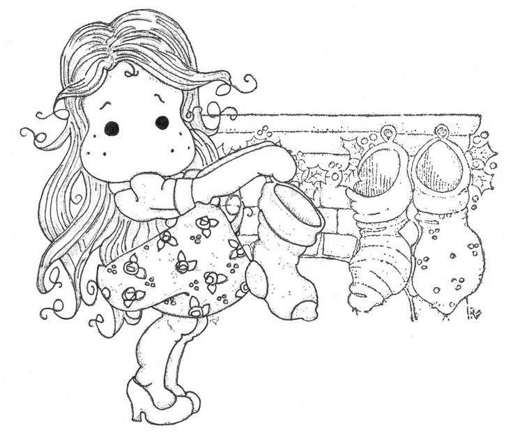 Winter Wonderland 2013 - The Day Before Christmas Stocking Tilda