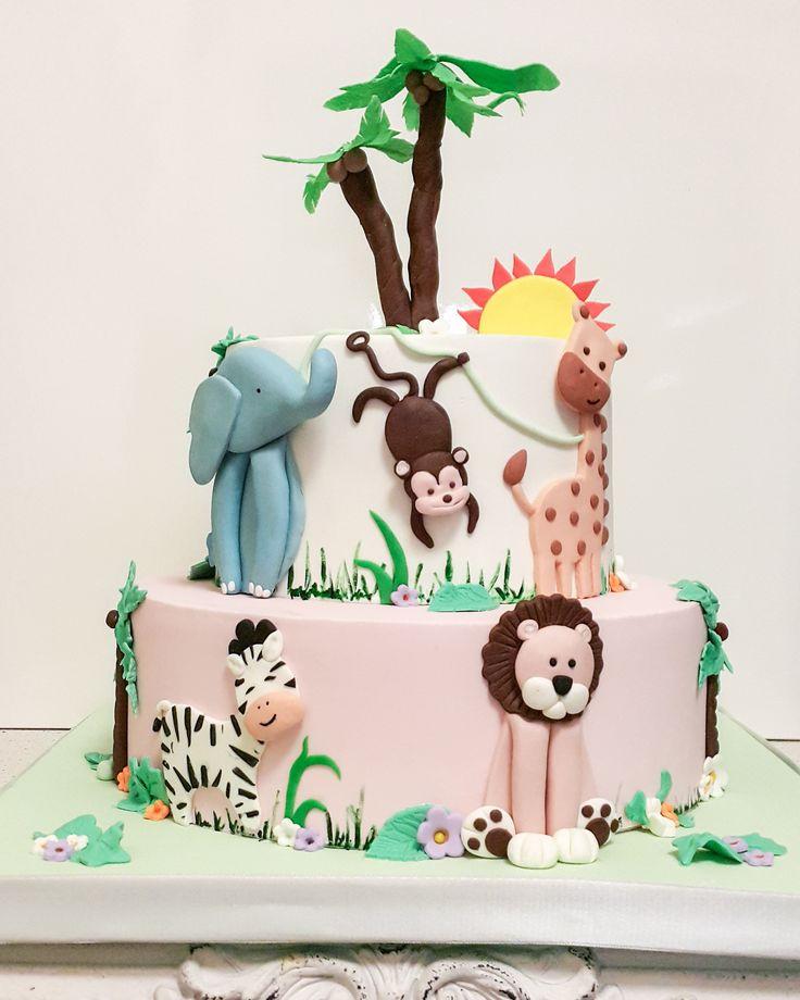 Kekperest, safari cake, animal cake, hayvan figürlü, tilkili pasta, çocuk pastası, doğumgünü, sugar art, cake topper, handmade, fondant, seker hamuru, cake art, birthday cake, sugar figurine, butik pasta, tortas, creative cakes, tortas, kuchen, edible art
