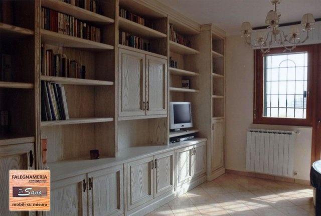 Mobili su misura DI SANO: librerie