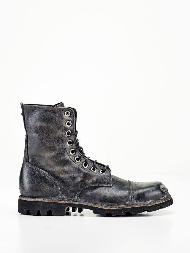 Diesel Boot STEEL, Black