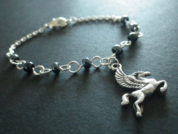 Magical Pegasus Winged Horse Fantasy Jewelry by CassieVision