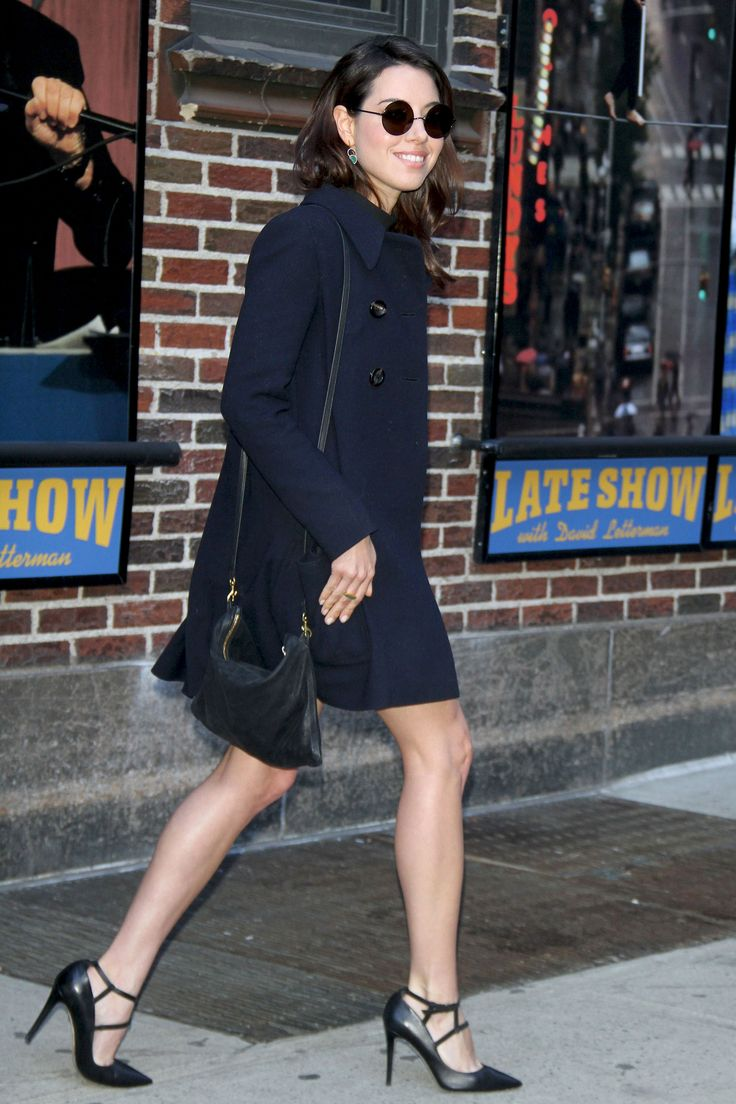 Aubrey Plaza at Late Show With David Letterman in New York City on March 24, 2015.   - Cosmopolitan.com