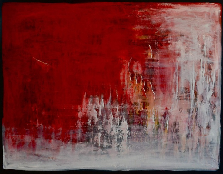 Shaynna Blaze is an interior designer that also sells her own art. I just really enjoy the colours in this piece