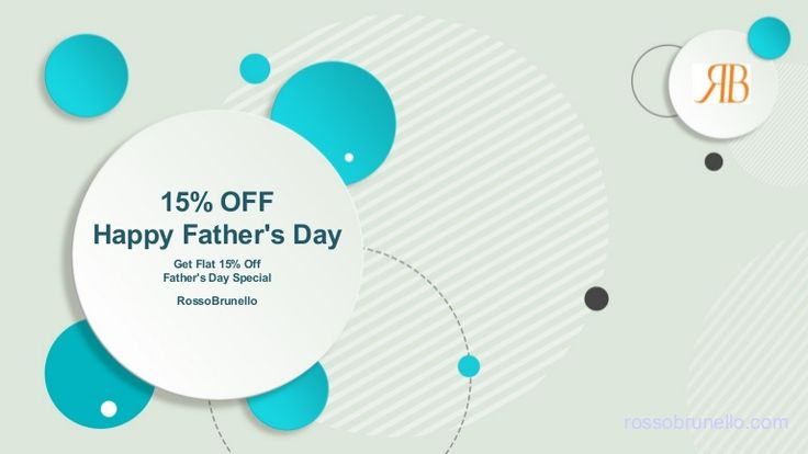 This year on June 19th, Sunday world would be regarding the sweetest and the most affectionate relationship that you hold with one person in your life – father. To celebrate and recognise this occasion, India's leading Footwear and accessories maker Rosso Brunello is offering all the men a superb discount of 15% on all the men's products on this Father's day.