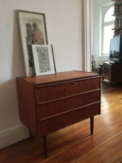 Sideboard Kommode Teak 60er Jahre in Altona - Hamburg St. Pauli   Wohnwand gebraucht kaufen   eBay Kleinanzeigen