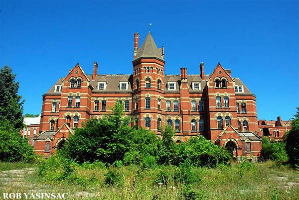 Abandoned Hudson Valley: HVR: Hudson River State Hospital, Poughkeepsie, NY, by Rob Yasinsac