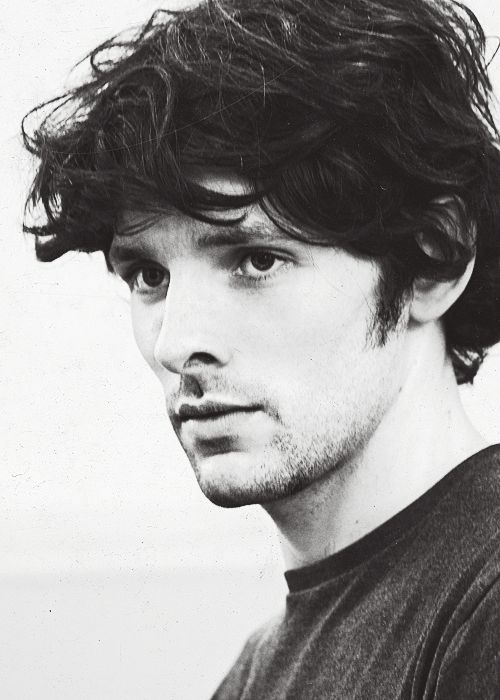 Colin Morgan. Well he grew up. He's got a beard and everything.