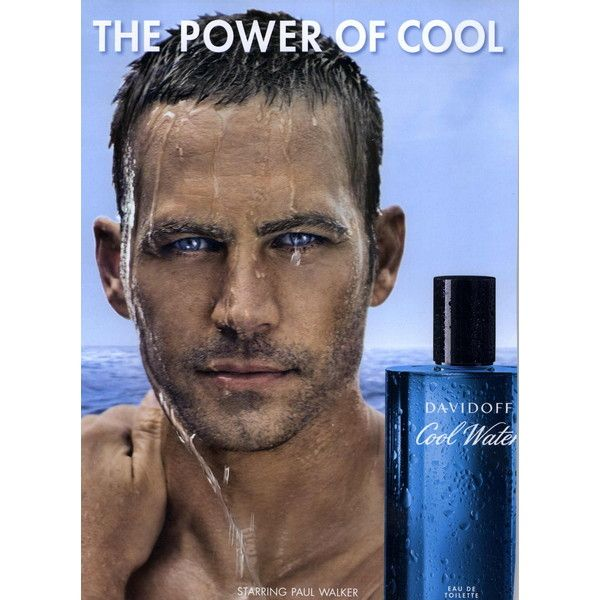 Davidoff Fragrance Ad Campaign Cool Water - MyFDB ❤ liked on Polyvore featuring men and ad campaign
