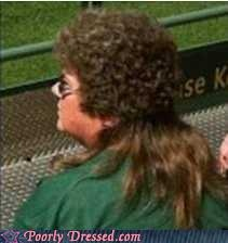 The mullet perm