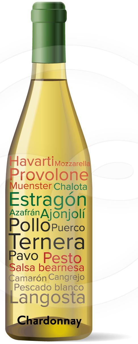 Maridaje Chardonnay #Vino