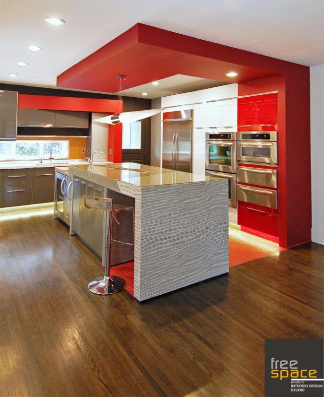 Johnson residence custom kitchen by freespace design charlotte nc