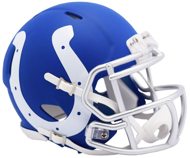 Indianapolis colts helmet riddell replica mini speed style