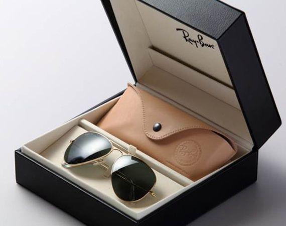 Ray Ban 18K Gold Aviator Sunglasses