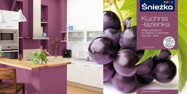 Fioletowy kolor do kuchni