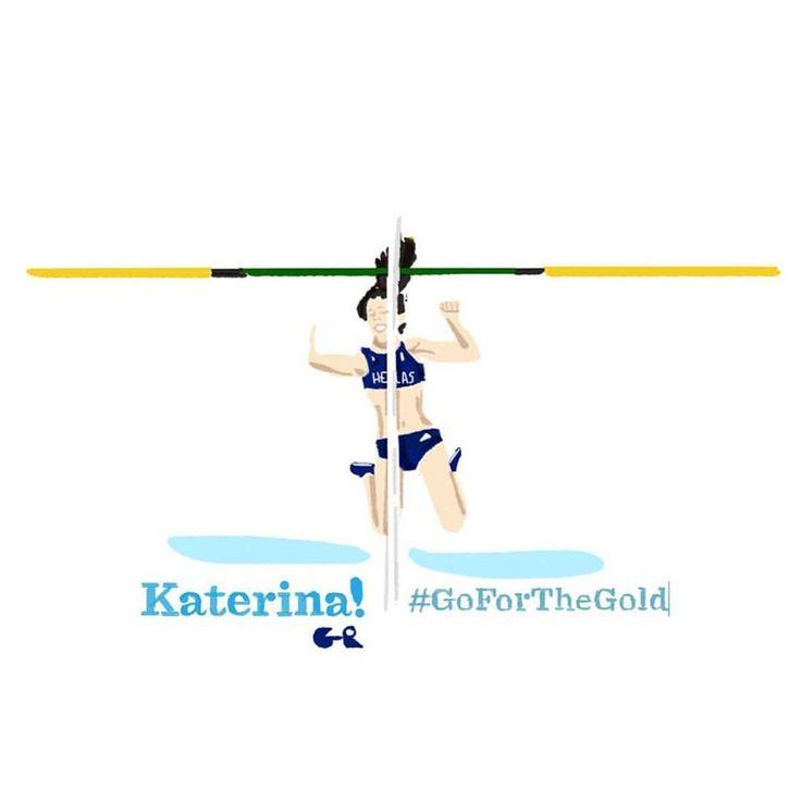 Ekatirini Stefanidi | Women Vault Pole Gold Medalist  #TeamHellas_Rio2016 #OlympicGames2016