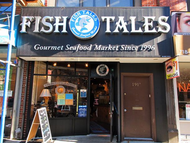 Fish Tales in Cobble Hill
