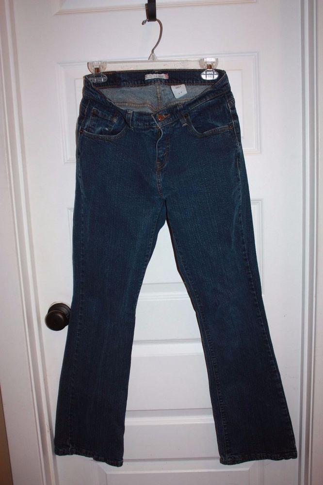 Women's Levi's 529 Curvy Jeans - Size 8M - EUC! #Levis #BootCut