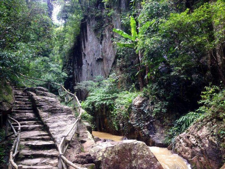 Datanla falls, Dalat, Vietnam