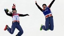 Gold and silver for Canada in women's skicross final   News and Blogs - CTV News at Sochi 2014