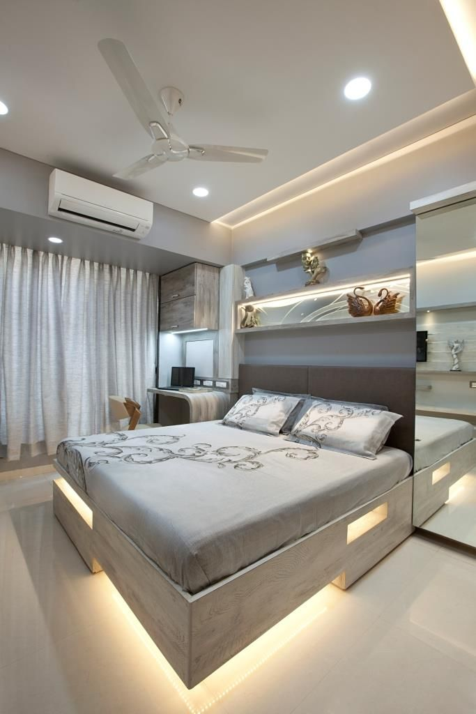 This Is Gray Colored Bedroom Designed By India S Best 10 Year