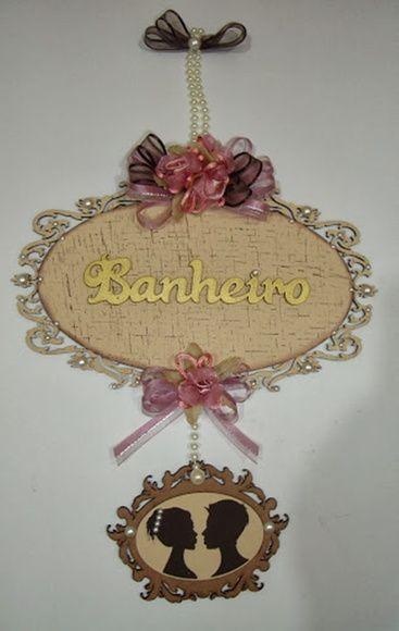 PLACA MDF BANHEIRO