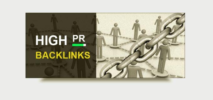 create High PR Backlinks For Your Website by mdshohagali