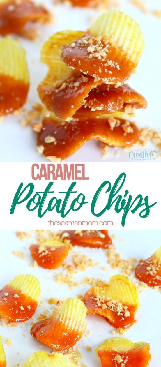Caramel Chips Snacks Need A Great Snack To Nibble On Over The