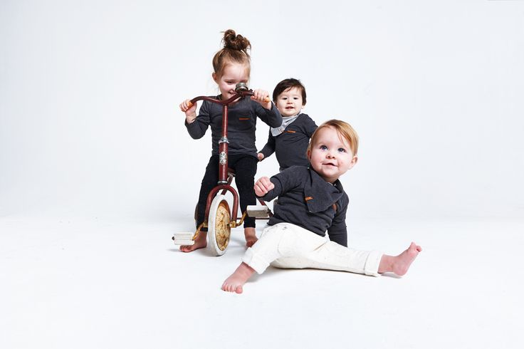 Nixnut Outfits - Anthracite | Nixnut Baby & Kids label