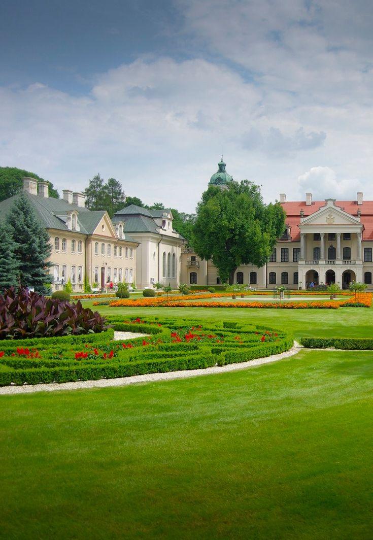 rococo castle at Kozłówka, LUBLIN - BURADÓW, Poland