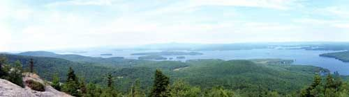 Mount Major Hiking Trails at Mt Major in Alton NH