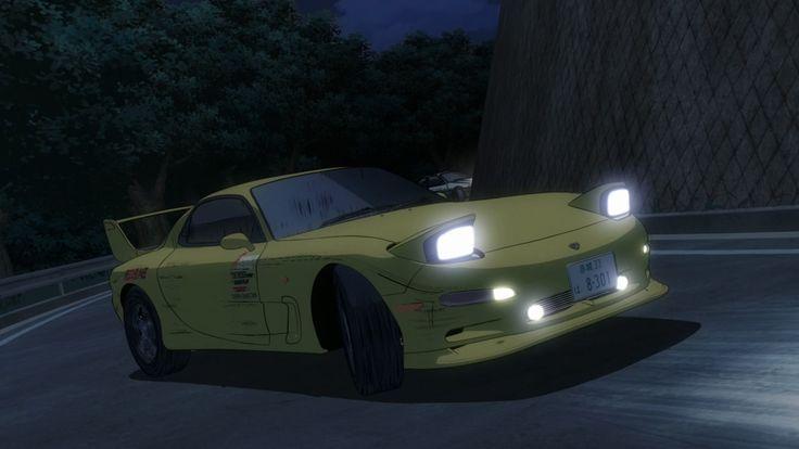 Initial D Mazda Rx-7 Efini