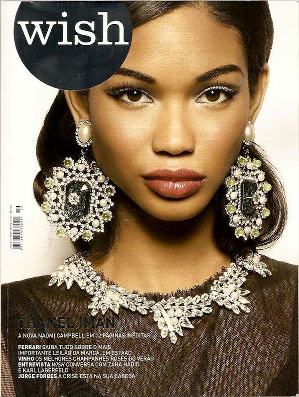 Model Chanel Iman   chanel iman victoria secret model age !