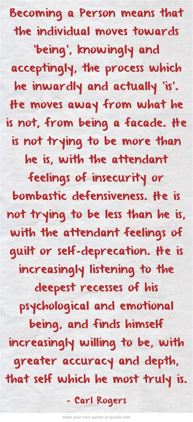 Reaching a state of serenity in my daily life... #INFJ