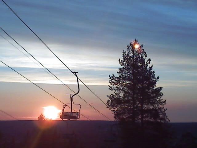 MIDNIGHT SUN - Rovaniemi, Lapland - Finland.