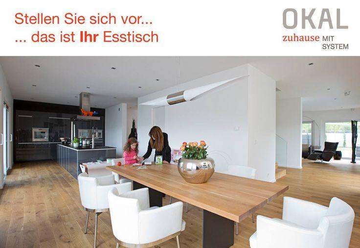 Stellen Sie sich vor... ... das ist Ihr Esstisch Wir beraten Sie gerne: Dieter Wissmann Verkaufsleiter Okal Haus Süd IHK - zertifiziert dieter.wissmann@okal.de Mobil: 0171-128 0274