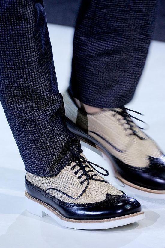 Giorgio Armani men shoes S/S