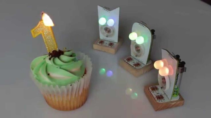 Little Robot Friends sing Happy Birthday. Don't miss the candle trick! #Robots #DIY #HappyBirthday