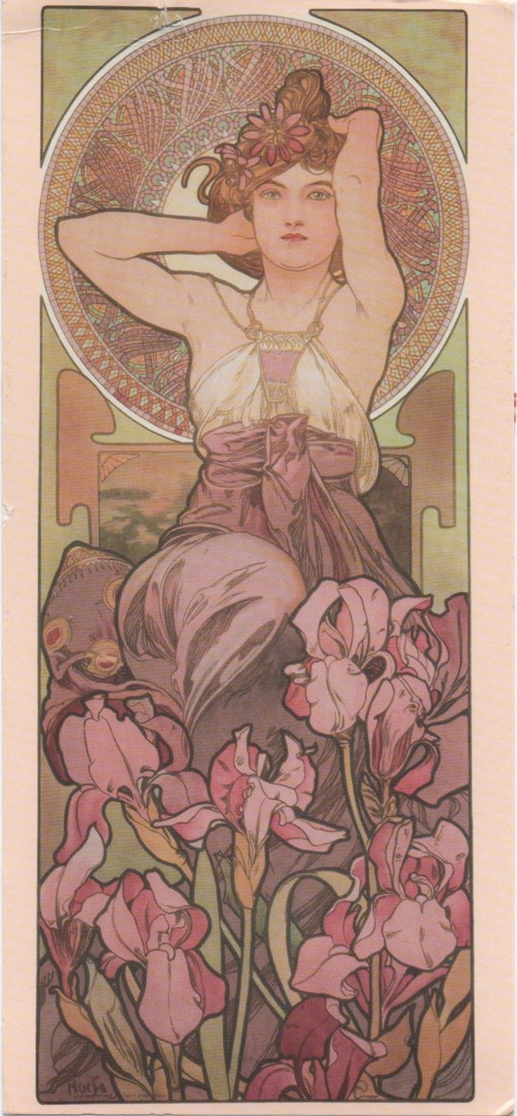 Swap - Arrived: 2016.04.14   ---   Mucha - The Precious Stones: Amethyst (1900)