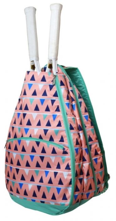 Sand CastlesAll For Color Ladies Tennis Backpack! Find the best tennis bags that match your outfits at #lorisgolfshoppe