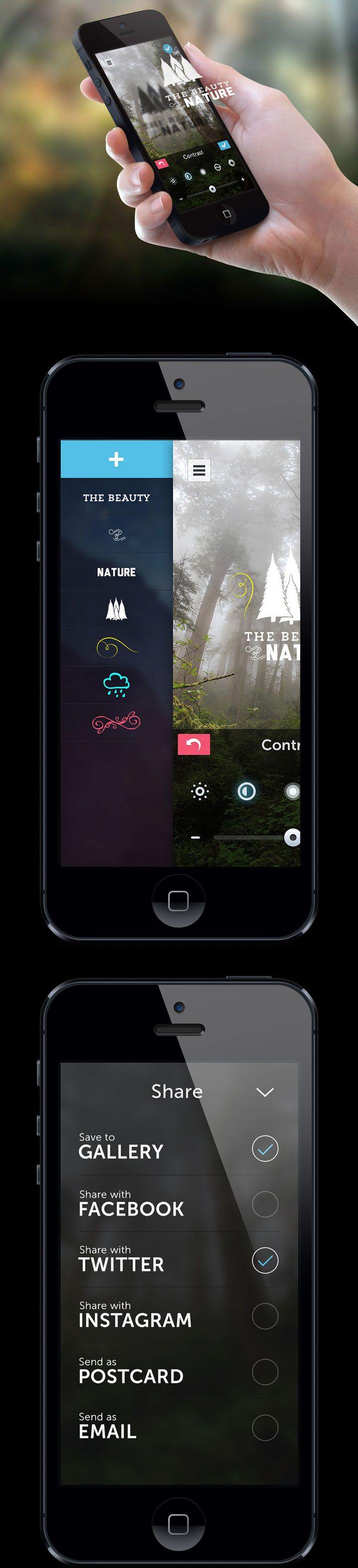 PicLab HD - iOS Universal Photo Editor #ResponsiveDesign #Design #WebDesign #Web #UI #UX GUI #Mobile #Website