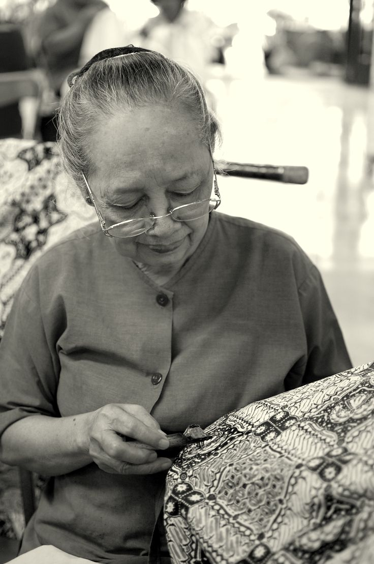 "Making ""Batik"" - the chanting phase at Yogyakarta"