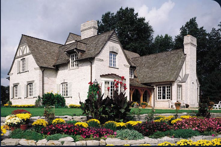 french country house exteriors | French Country Chalet | Rear-Outside Photo
