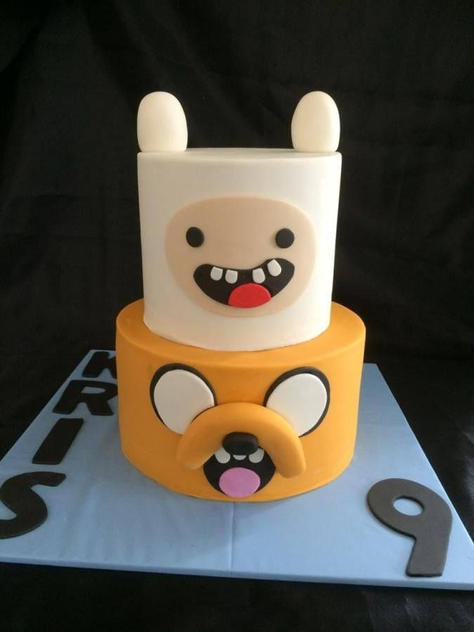 Torta Hora de Aventura - Adventure Time Cake