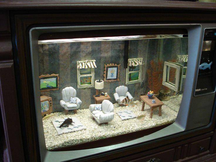 Les 17 meilleures id es de la cat gorie d cor d 39 aquarium for Poisson decoration aquarium