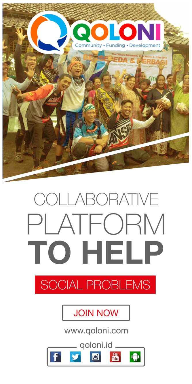 Qoloni #crowdfunding for socials