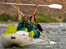 Absolutely no previous experience is needed! The section of river that we operate on is graded 1 - 3 in terms of rapids.