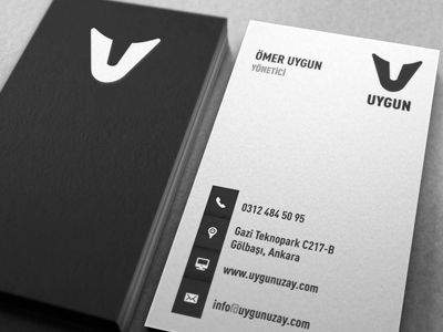 Simple, clean, great business cards.